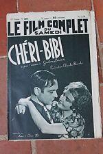 Le Film Complet du Samedi CHERI-BIBI GASTON LEROUX N°2206 1938