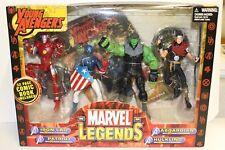 "Marvel Legends Young Avengers 6"" Figures Iron Lad, Patriot, Asgardian, Hulkling"