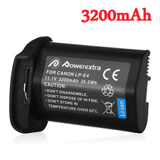 LP-E4 LP-E4N Battery 3200mAh For Canon EOS 1D 1Ds Mark 3 III 4 IV X 1DX Camera