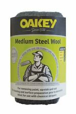 More details for oakey by norton steel wool medium grade approx 200g for paint wood varnish metal