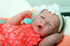 "Baby Cute Girl Doll Real Reborn Berenguer 15"" Vinyl Lifelike Toy Alive Newborn"