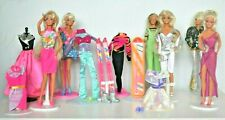 Collection of 1990s Barbie Dolls, Ski Ken Clothes,Cool Colours, Silver Star etc