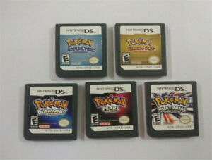 Pokémon Golden Heart Silver Soul DIA Platinum Pearl Game Card Nintendo 3DS NDSI