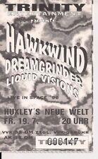 HAWKWIND Used Ticket Berlin 19.07.1996