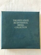 The Fifty-State Bicentennial Medal Collection 5 States Silver Coins Book