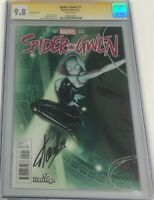 Marvel Spider Gwen #1 Hastings Variant Signed by Stan Lee CGC 9.8 SS