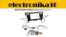 Soporte Marco radio 2din embellecedor Nissan  Qashqai 2N(J11)'13<=> kit