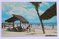 Postcard SIESTA KEY BEACH, PICNIC AREA, GULF OF MEXICO, SARASOTA, FLORIDA