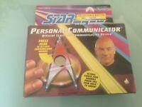 Vintage Star Trek the Next Generation Playmates Personal Communicator 1992