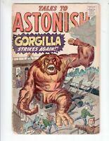 """Tales to Astonish 18 Fair (1.0) 4/61 """"Gorgilla Strikes Again!"""""""
