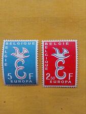 STAMPS - TIMBRE - POSTZEGELS - BELGIQUE - BELGIE1958  Nr.1064/65  **(ref.846)