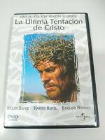 La Ultima Tentacion de Cristo Martin Scorsese - DVD Español Ingles Region 2 AM