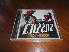 DAZ-N-SNOOP - CUZZNZ Rap CD - Snoop Dogg Daz Dillinger Kurupt - West Coast 2015