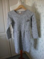 GIRLS MONSOON DRESS AGE 12 - 13 YEARS GREY SILVER SPARKLY PARTY WEDDING
