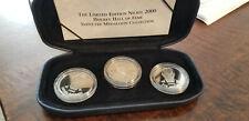 2000 HOCKEY HALL OF FAME NICKEL INDUCTEE MEDALLION SET JOE MULLEN SAVARD BUSH