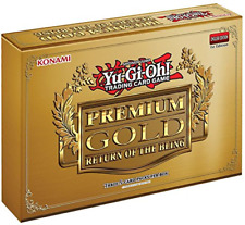 Yugioh 2015 Premium Gold Return Of The Bling Series Mini-Box 3 Booster Packs 5