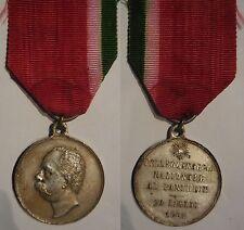 medaglia pellegrinaggio nazionale al pantheon 1901 Umberto I