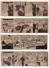 Dick Tracy by Chester Gould - 26 daily comic strips - Complete April 1953