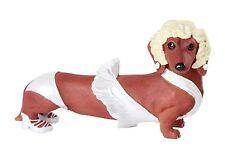 Marilyn Monroe Sexy Red Doxy Dachshund Dog Figurine Collection