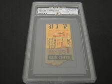 1970 Cleveland Indians vs Minnesota Twins Ticket Stub Sam McDowell WP Authentic