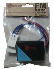 Toyota FM Band Expander with 3 Frequency in 1 Together 16Mhz, 18Mhz and 20Mhz
