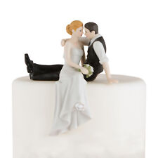 Wedding Cake Topper Porcelain The Look of Love Bride and Groom