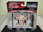 UFC BROCK LESNAR & FRANK MIR ULTIMATE MICRO FIGHTERS SERIES 1 JAKKS PACIFIC