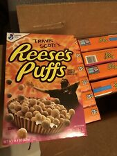 Rare Limited Edition General Mills Travis Scott Reese's Puffs Cereal New Sealed