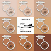 PHOERA BEST MATTE SETTING COMPACT PRESSED POWDER FACE MAKEUP BASE SKIN VITAMIN E
