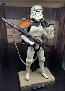 1/6th scale Hot Toys MMS 295 'Sandtrooper'  - Movie Masterpiece - Boxed **LOOK**