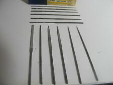12 in Length Double Cut Nicholson American Pattern File 9 Units Square Shape