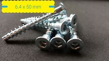 chipboard mdf screws x10 Hafele 38mm Confirmat screws for flat pack furniture