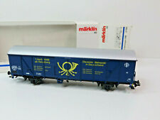 Gedeckter Güterwagen der DBP, Ep.IV,Märklin HO,SoMo 1998,PMS,47368,OVP,TOP,CE