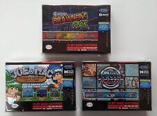 Super Nintendo (snes) - Retro-bit Brawlers Pack, Joe & Mac, Data East UK PAL