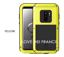 Coque antichoc et etanche SAMSUNG Galaxy S9  - LOVE MEI FRANCE - Jaune
