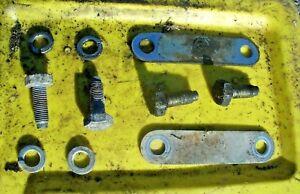 (10 pc) 77-81 Datsun 210 Engine Cradle Sub Frame Mounting Hardware Set - Genuine