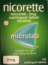 Nicorette microtab 2mg 100s (G)  (Genuine)