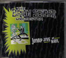 The Brian Setzer Orchestra-Jump Jive An Wail cd maxi single