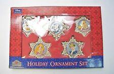 Jim Shore Disney Showcase Snow Flakes Holiday Princess Ornament Set 4033273 RARE