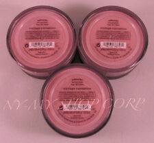 Bare Escentuals BareMinerals Blush Vintage Carnation for Face .85g - Lot of 3