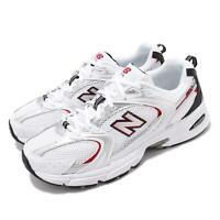 New Balance 530 V2 Retro White Silver Red Men Women Running Shoes MR530SA D