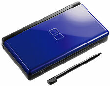 Nintendo DS Lite Cobalt and Black Handheld System
