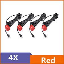Car Backup Parking Sensor Reverse System Rear Sensors Replacement 22mm Red New