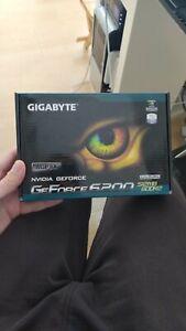 GIGABYTE GEFORCE 6200 512MB GDDR2 LOW PROFILE AGP8X BRAND NEW !!! RARE !!!!