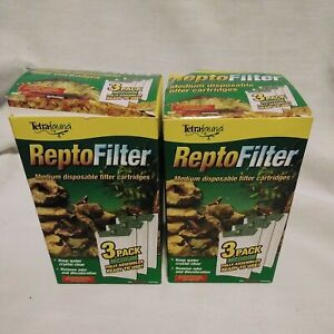 Tetra ReptoFilter Cartridges - Medium 3 pack, green (25845)