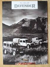 LAND ROVER DEFENDER 90 110 & 130 Range c1994 UK Mkt Sales Brochure