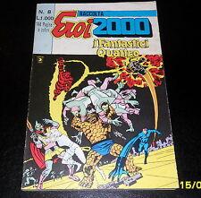 RACCOLTA EROI 2000 ED. CORNO 8/1982 - I FANTASTICI QUATTRO/THOR ED. CORNO