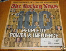 the hockey news adec 30 2003 5th annual 100 people