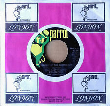 FRIJID PINK - HOUSE OF THE RISING SUN b/w DRIVIN' BLUES - PARROT 45