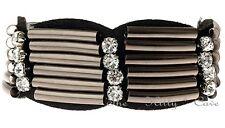 Black Tribal Roman Sparta Gladiator Crystal Punk Cuff Bracelet Emo Band Bracelet
